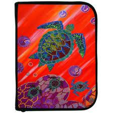 logboek voor duiken met stipart afbeelding van schildpad