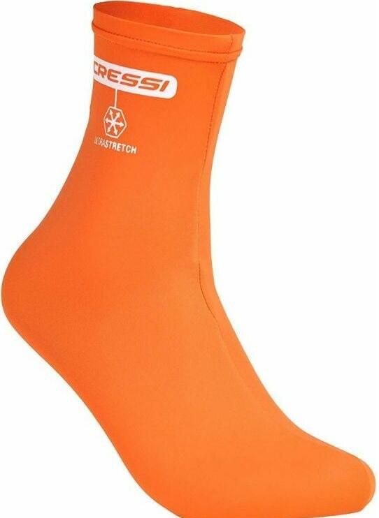 Cressi lycra ultra stretch water socks – Tangerine / oranje