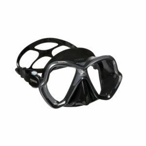 Mares X-Vision Duikmasker Antraciet / zwart silicone