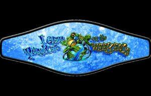 Neopreen Strap wrapper - Weekend frog