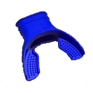 Soft Siliconen Mondstuk voor ademautomaat Blauw