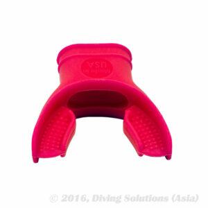 Soft Siliconen Mondstuk ademautomaat Roze / Pink