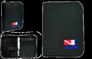 3-rings duik logboek Black
