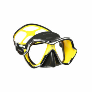 Mares X-Vision Chrome LS Masker Yellow / black