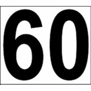 DTD 60 MOD Sticker