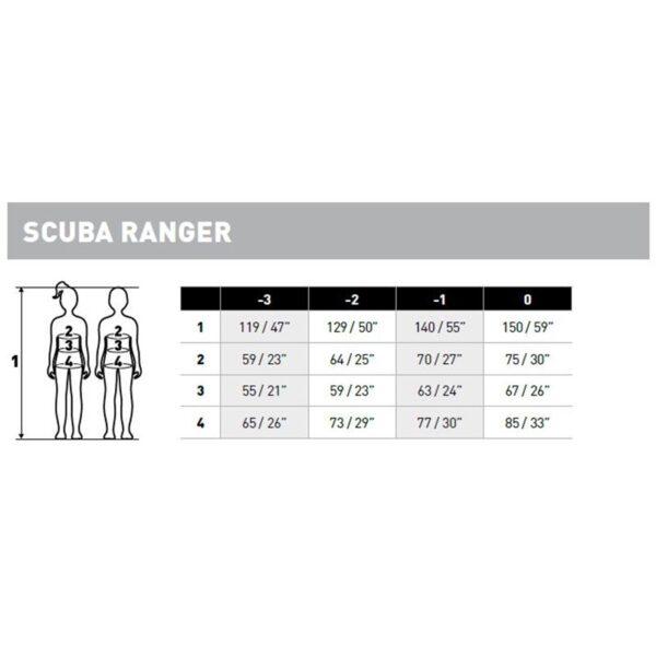 Mares Scuba Rangers wetsuit