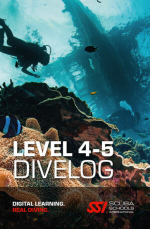 SSI Total Divelog duiklogboek level 4 5
