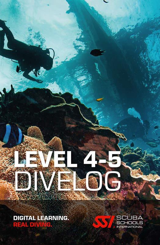 SSI Total Divelog duiklogboek level 4 5