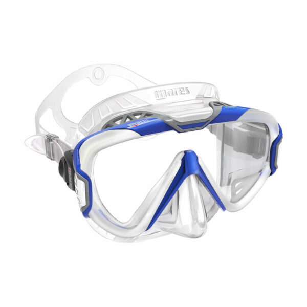 Mares x-Wire duikbril transparant silicone