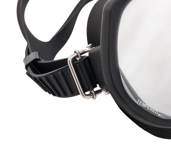 SS buckle Frameless Super View mask