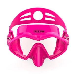 Tecline Frameless Neon mask pink