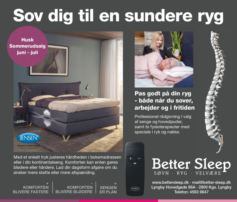 Ryg & Sengeforretning - Better Sleep