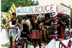Ladies Keep Fit at 1990 Carnival (Cynthia Curtis)