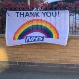 NHS Flag High Street