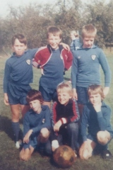 Bluntisham School Football Team - about 1981