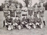 Photo provided by Anthony MulleeBack Row - Steve Tabbitt, Arthur Eastham, Steve Ellis, Mike ? , Paul Richards, Darren Pingree, Paul Duffy,From Row - Geoff Mullee, Martin Steward, Dave Bullin, Matt Mustill, Tim Muller