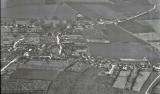 1973 Aerial view of Bluntisham , (Peter Searle)