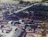 1976 Aerial view of Bluntisham , (Peter Searle)