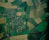 1997 Aerial View of Bluntisham, Peter Searle