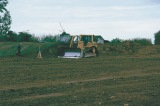 Levelling of the site for the new village hall