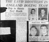 Boxing - famous Laud brothers - provided by Bev White