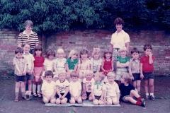 Bluntisham Playgroup - Jean Dench and Margaret Robinson