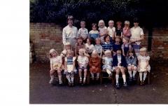 Bluntisham Playgroup 1981
