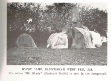 Gypsy Camp with Old Shady Smith 1924