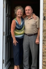 Norman Gill was given the opportunity to go and visit his home in Bluntisham where he and his sisters were born.....Thanks to Jo & Tim Fawcett who welcomed Norman with open arms into their home and gave Norman the opportunity to share his memories of their home.  25 High Street, Bluntisham