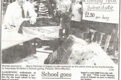 Compost for school - St Helen's School, 1989 (Elaine Gebbie)