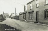 Short Lane towards Wood End and Bunyan Lodge, (Peter Searle)