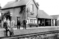 Bluntisham Railway Station