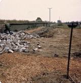 Filling in the Cutting, Bridge Farm, 1976
