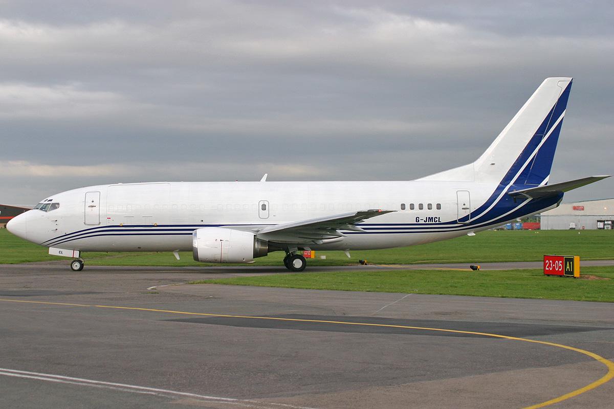 G-JMCL B737 322F ATLANTIC AIRLINES