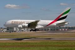 A6-EDE A380 EMIRATES
