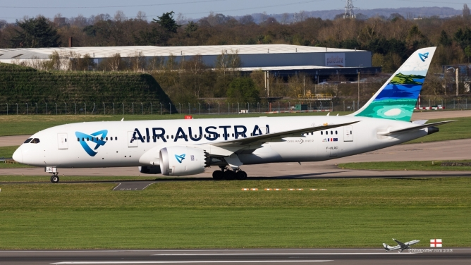 F-OLRC B788 AIR AUSTRAL