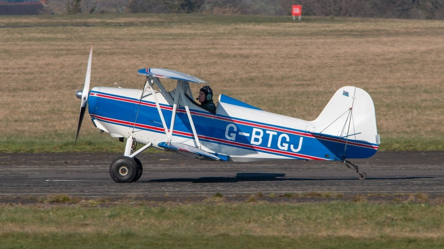 G-BTGJ SMITHS DSA-1