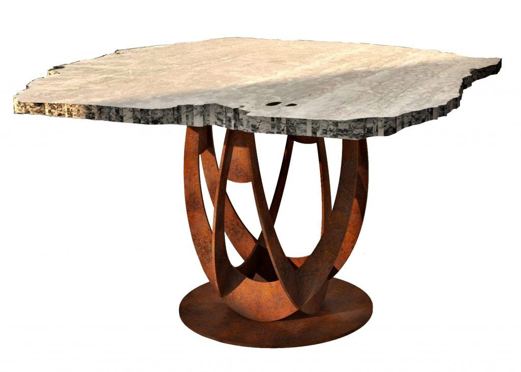 Table jardin gravity