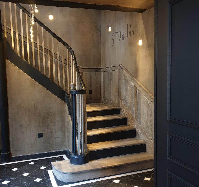 Hotel Saint Délis at Honfleur - Interior design by Binôme
