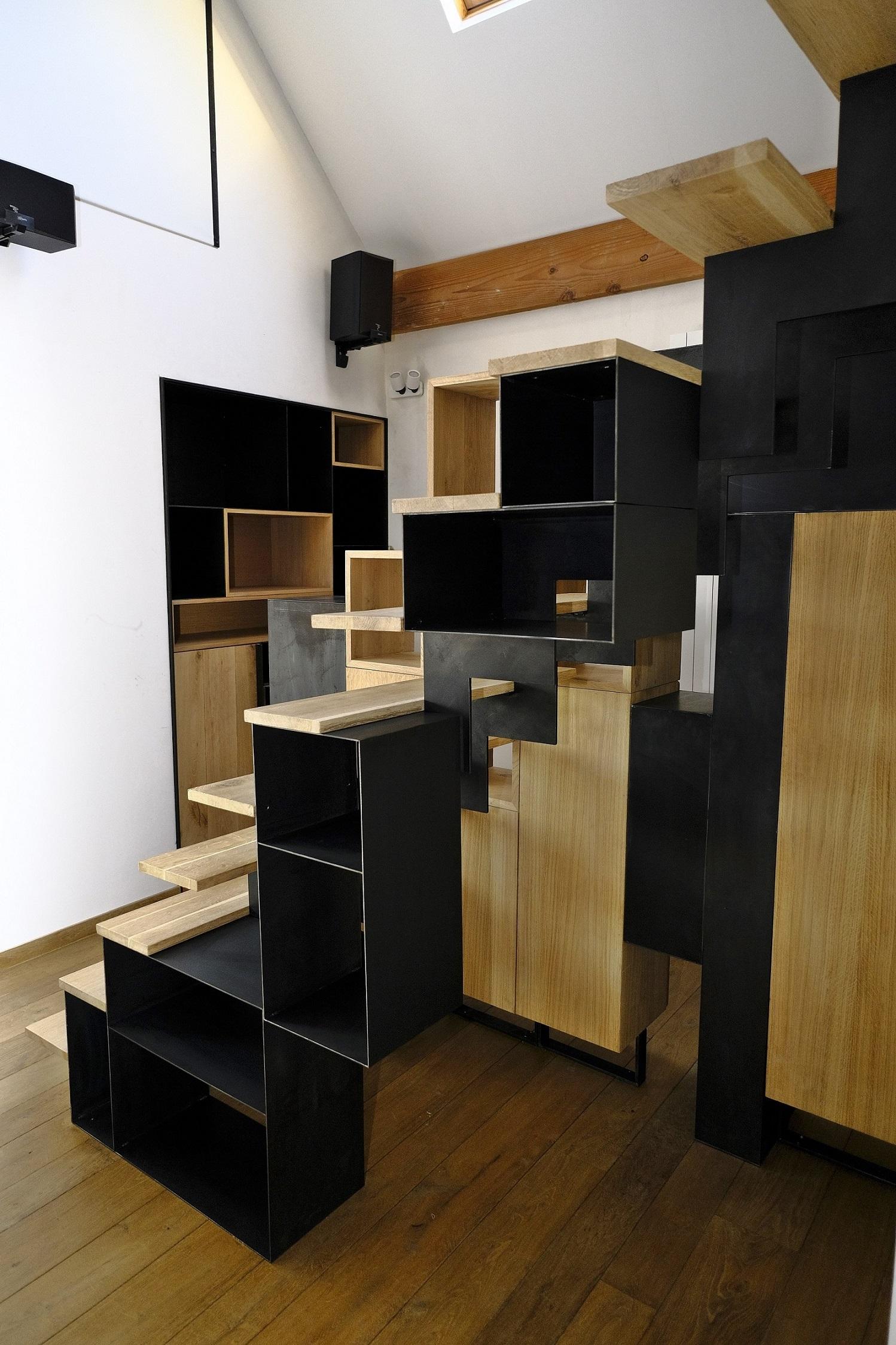 Private House Namur - Interior design by Binôme