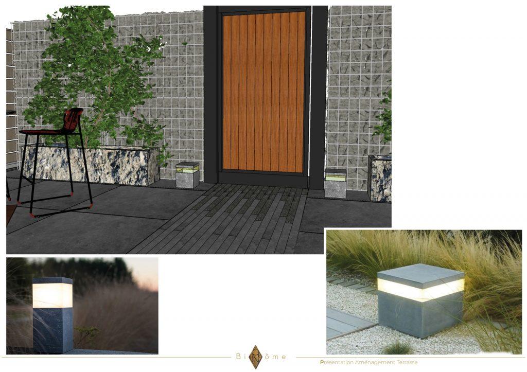 Binôme Garden Project Terrace