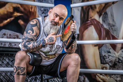 Fotoshooting im Aachener Box Gym