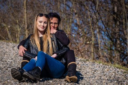 Mutter Tochter Fotos Outdoor