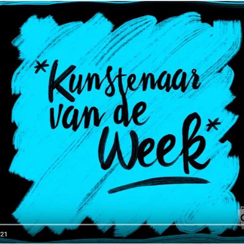 Kunstenaar van de week