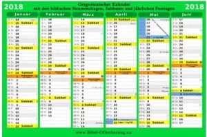 Biblischer Kalender