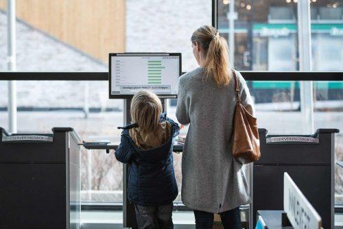 Formidlingsdata - besøkende på Lambertseter bibliotek