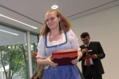Judith Schweiger, Brauermeisterschaft in der Berufsschule für Brauwesen in München 2018