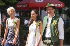 Dr. Lothar Ebertz (re.), Münchner Brauertag am Odeonsplatz in München am 29.6.2019