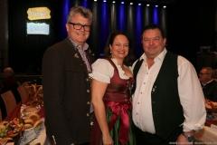 Dr. Karl Ibscher, Petra Bachhuber, Franz Risch (von li. nach re.), Truderinger Ventil in Kulturzentrum Trudering in München-Trudering 2019