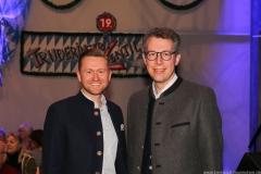 Dr. Wolfgang Stefinger und Markus Blume (re.), Truderinger Ventil in Kulturzentrum Trudering in München-Trudering 2019
